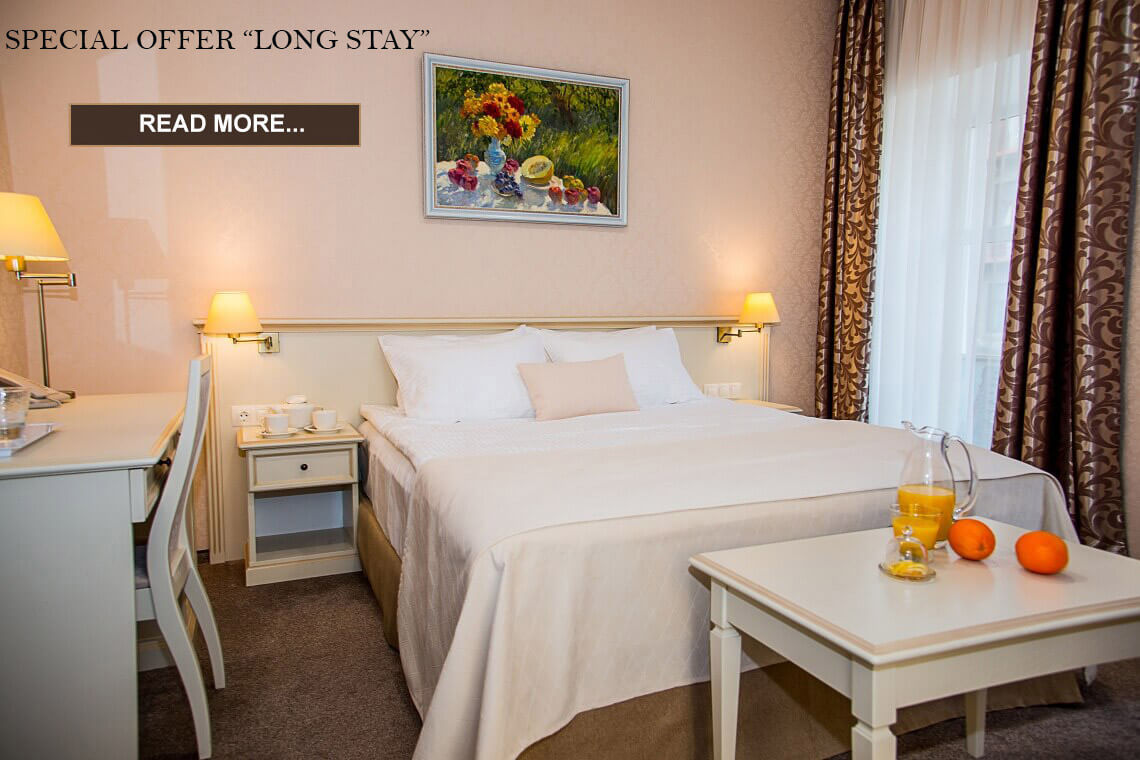 Special offer for long stay